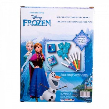 Set carioci si stampile Frozen