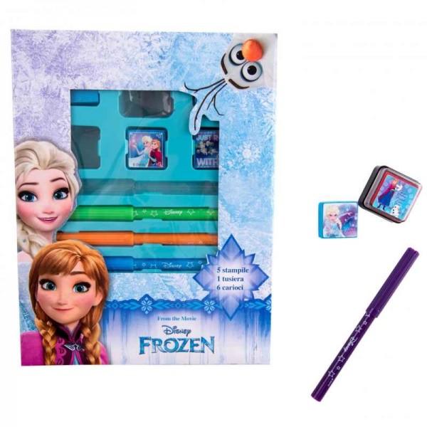 Set carioci si stampile Frozen