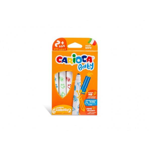 Carioca Baby Marker 2+ 6/set
