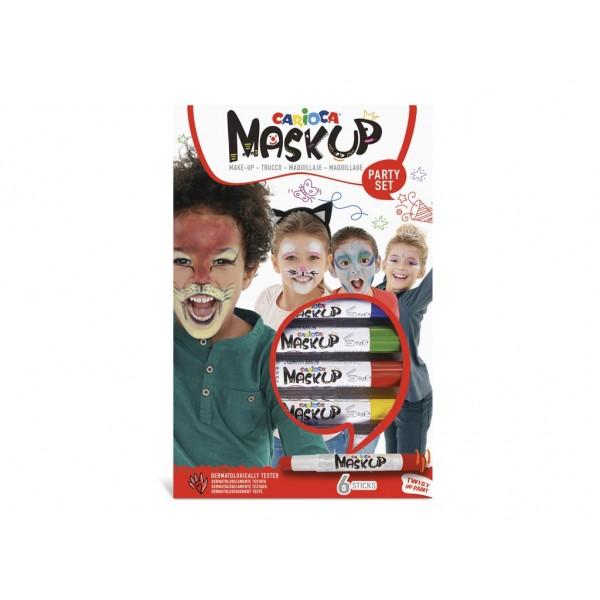 Carioca Mask-Up Party 6/set