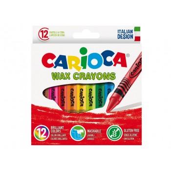Creioane cerate Carioca 12/set