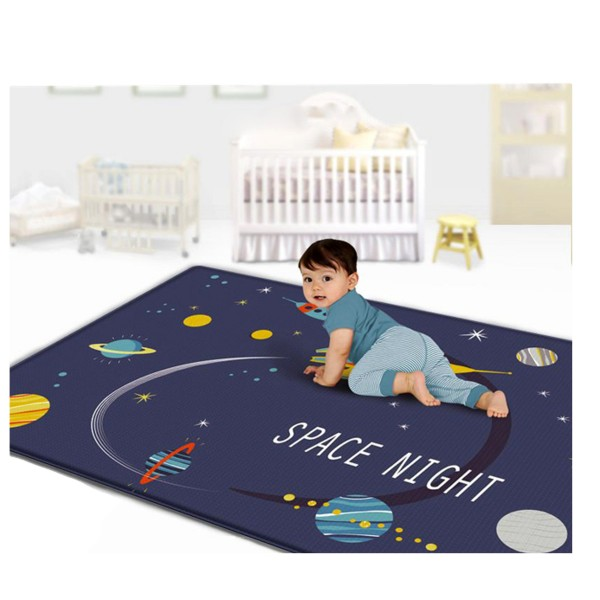 Covoras de joaca mare termoizolant Noapte de vis 170 x 140 cm