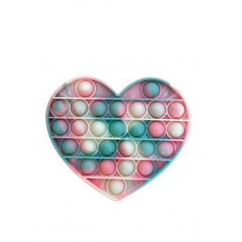 Jucarie Pop It Antistres Bubble Inima