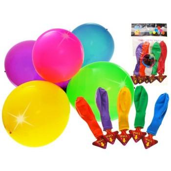 Set 5 Baloane cu Led Multicolore