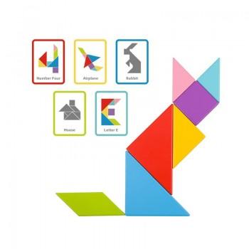 Joc Tangram Educativ, Puzzle magnetic