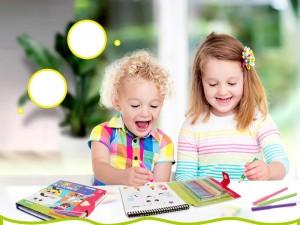 Încurajează-ți copilul să fie creativ! Recomandări de la Bobomarket.
