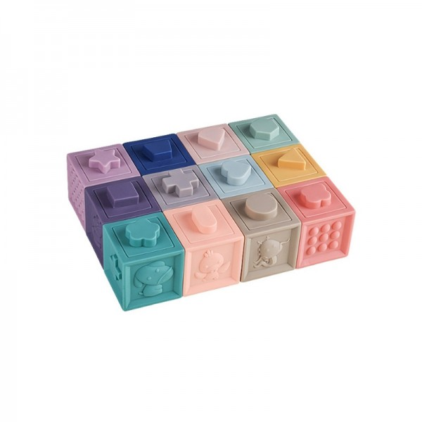 Set cuburi senzoriale cu sunete
