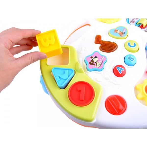 Masuta Interactiva Centru de Activitati pentru bebelusi