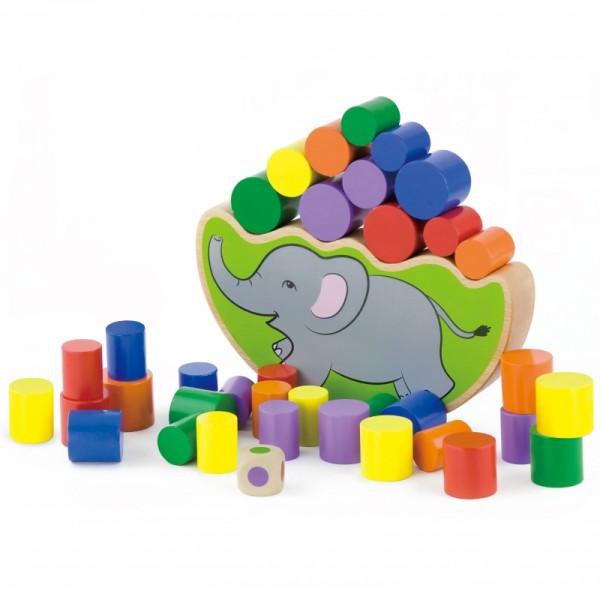 Elefantul Echilibrist, Joc de Balans