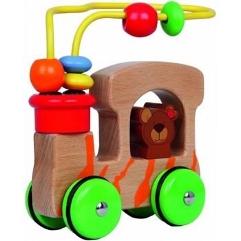 Jucarie din Lemn Montessori- Beluga