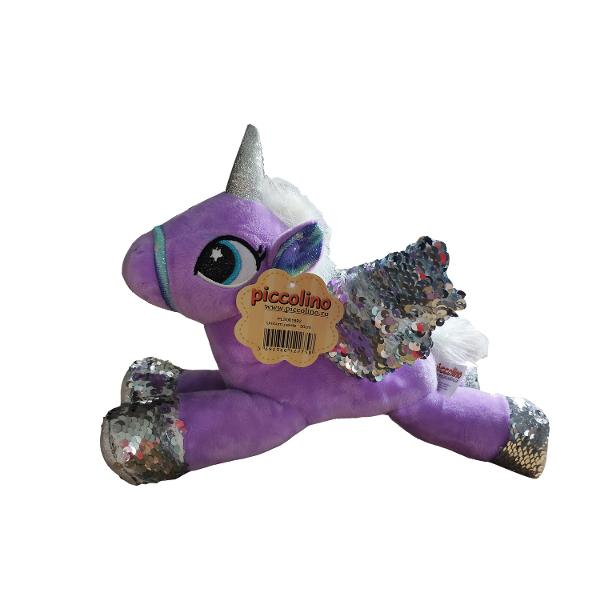 Unicorn Paiete Lila 30 Cm