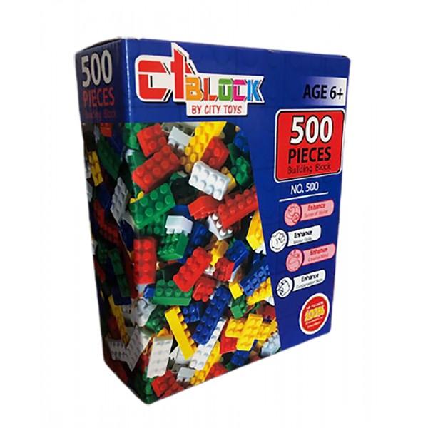 Cuburi de Constructii 500 Piese