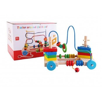 Jucarie Montessori din Lemn  Labirint
