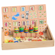 Joc Donuts, Tabla Educativa Montessori cu cifre