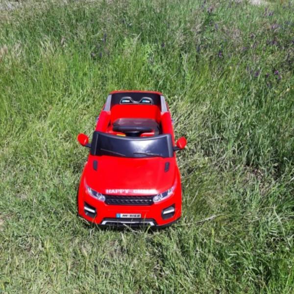 Masina electrica Jeep Off-Road cu un loc si roti cu suspensii