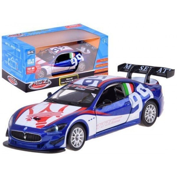 Masinuta metalica Maserati scara 1:32 Sunete si Lumini