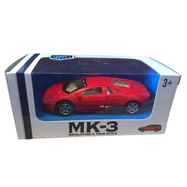 Masinuta Metalica Mk 3 Muzical + Lumini