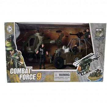 Set Militar Jucarie cu Vehicule si Soldati Figurine