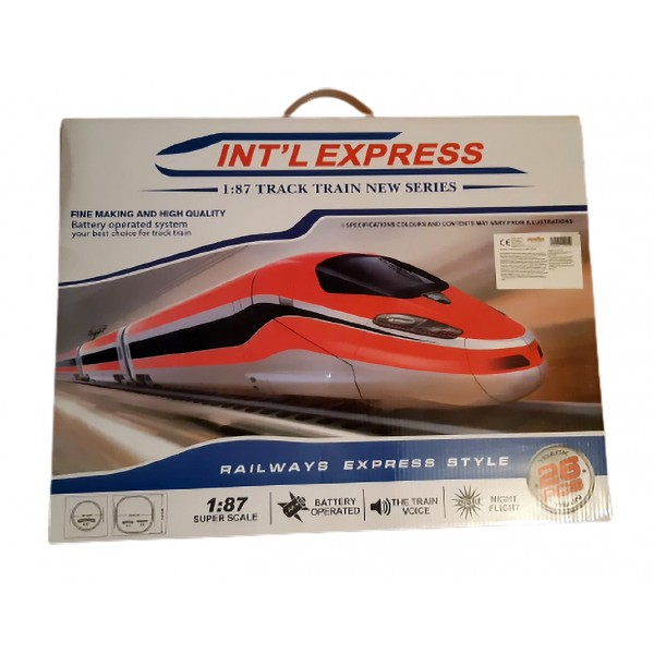 Tren Electric cu Lumini Express
