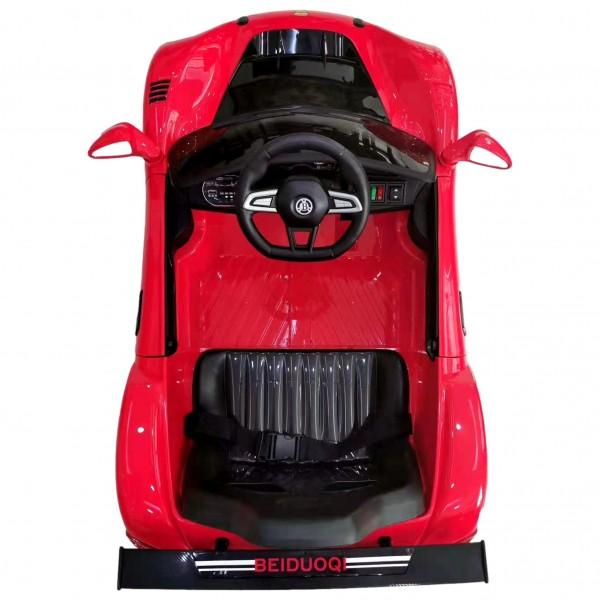 Masinuta electrica cu telecomanda pentru copii, usile se deschid, mai multe viteze, power display