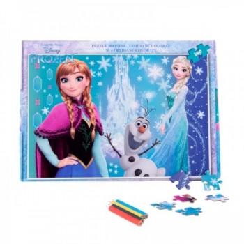 Puzzle Frozen 160 piese + bonus