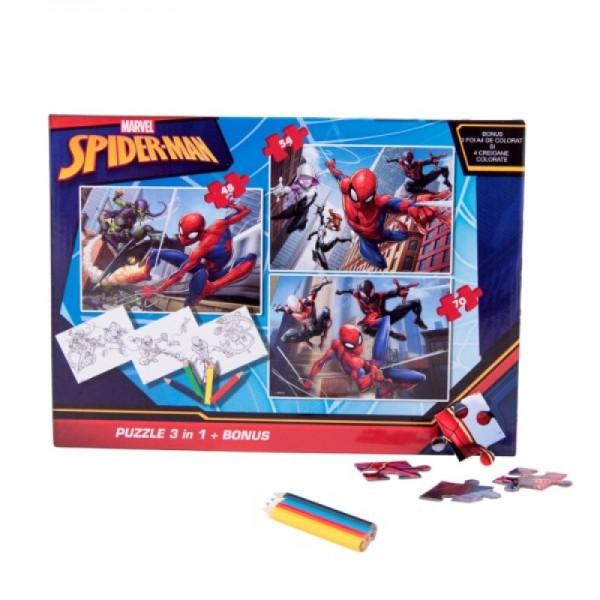 Puzzle Spiderman + bonus