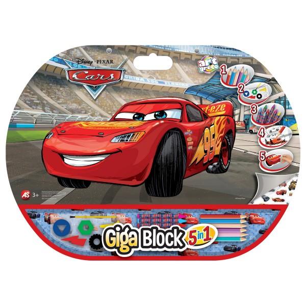 SET PENTRU DESEN 5IN1 GIGABLOCK CARS