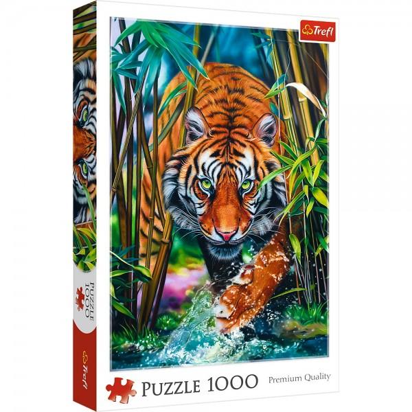 PUZZLE TREFL 1000 TIGRU