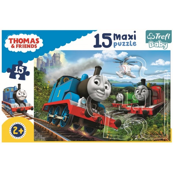 PUZZLE TREFL 15 MAXI LOCOMOTIVE IN VITEZA