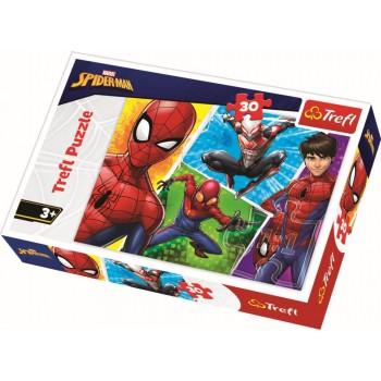 PUZZLE TREFL 30 SPIDERMAN SI MIGUEL