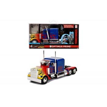 Masinuta Metalica Transformers  T1 Optimus Prime Scara 1 la 32