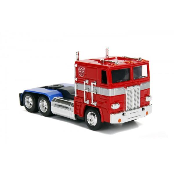 Masinuta Metalica Transformers G1 Optimus Prime Scara 1 la 32
