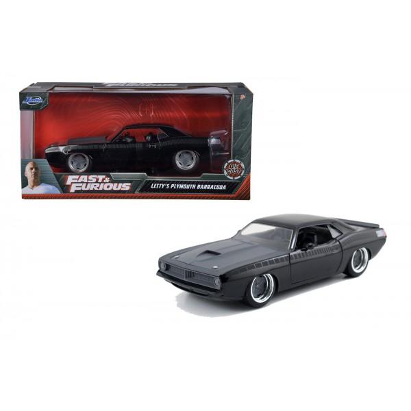 Masinuta Metalica Fast and Furious 1970 Plymouth Scara 1 la 24