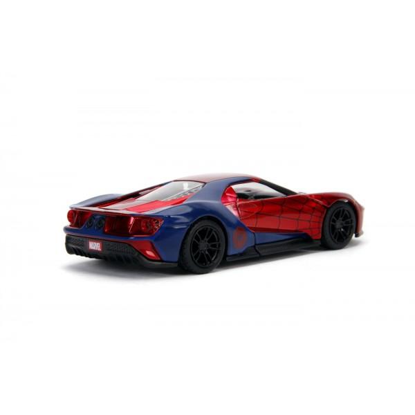 Masinuta Metalica Spider-Man 2017 Ford GT Scara 1 LA 32