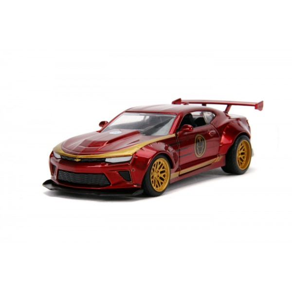 Masinuta Metalica Iron Man 2016  Chevy Camaro SS Scara 1 la 32