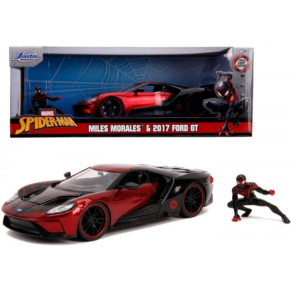 MASINA METALICA SPIDER-MAN FORD GT 2017 MILES MORALES