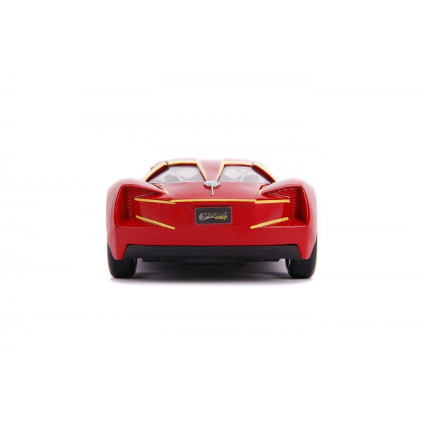 Masinuta Metalica Flash 2009 Chevy Corvette Scara 1 la 32