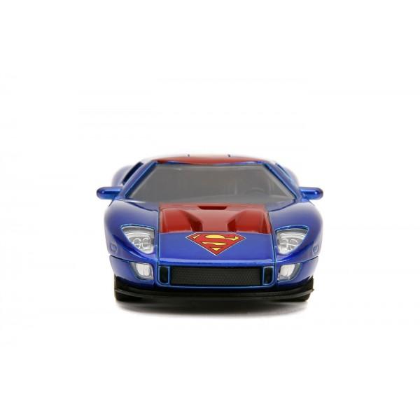 Masinuta Metalica Superman 2005 Ford GT Scara 1 LA 32