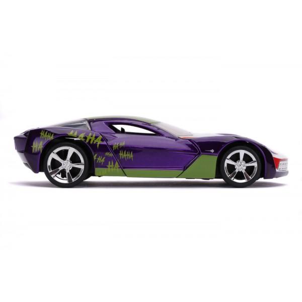 Masinuta Metalica Joker 2009 Chevy Corvette Stingray Scara 1 la 32