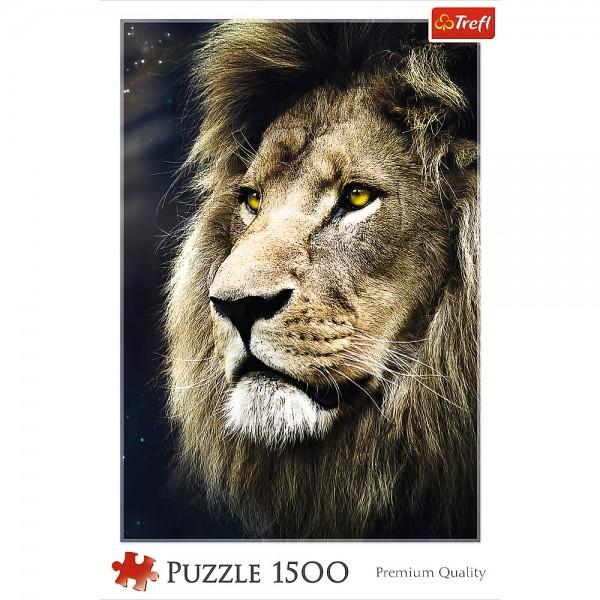 PUZZLE TREFL 1500 LEU PORTRET