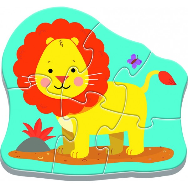 PUZZLE TREFL BABY CLASIC ANIMALE SAFARI