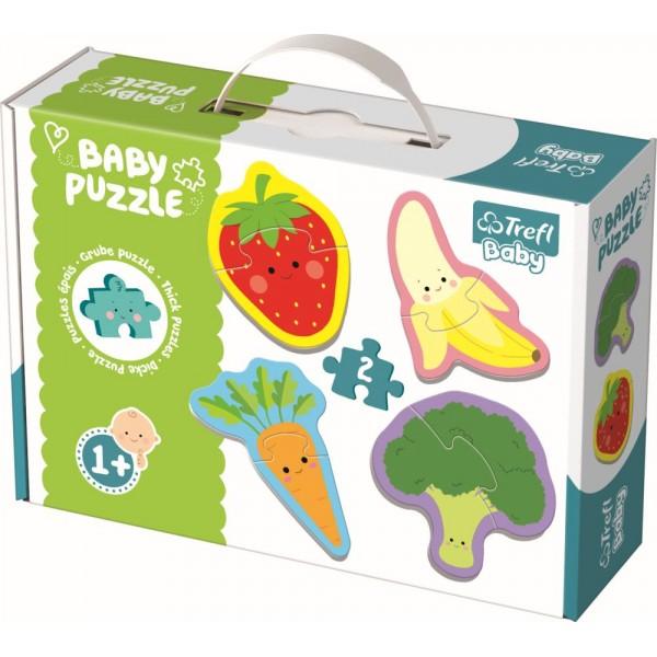 PUZZLE TREFL BABY CLASIC FRUCTE SI LEGUME