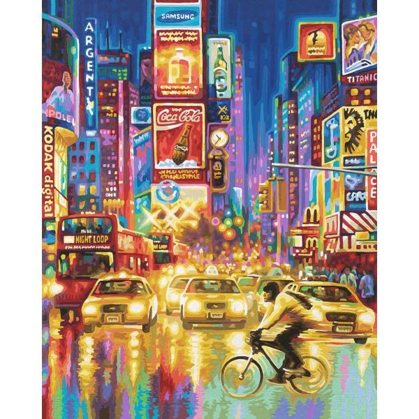 KIT PICTURA PE NUMERE SCHIPPER TIMES SQUARE NEW YORK