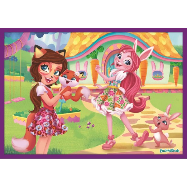 PUZZLE TREFL 10IN1 AVENTURILE ENCHANTIMALS