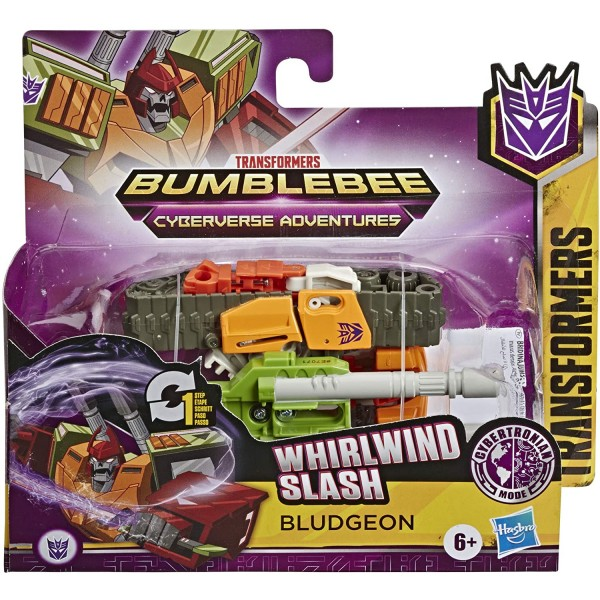 TRANSFORMERS ROBOT VEHICUL CYBERVERSE 1 STEP BLUDGEON