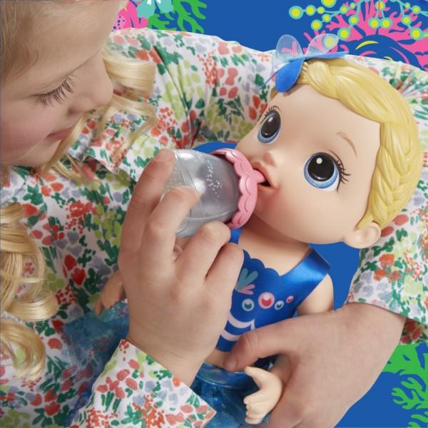 BEBELUSUL BABY ALIVE PREGATITA PENTRU BALACEALA
