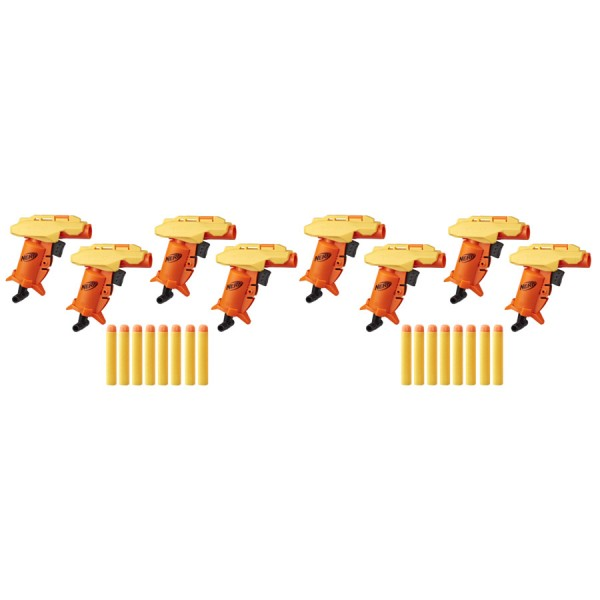 NERF ALPHA STRIKE SET 8 BLASTERE STINGER SD1