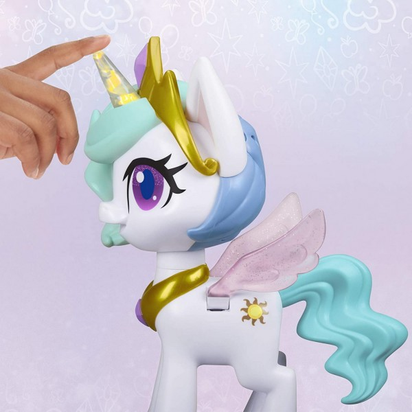 MLP PONEI CELESTIA MAGICAL KISS UNICORN