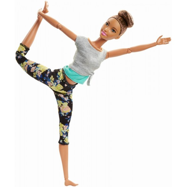 PAPUSA BARBIE MEREU IN MISCARE YOGA STYLE